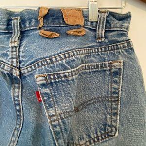 Vintage Levi 501 jeans.